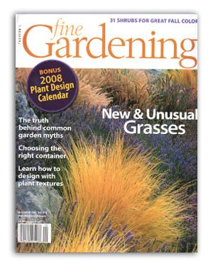 jerry fritz garden design magazine articles